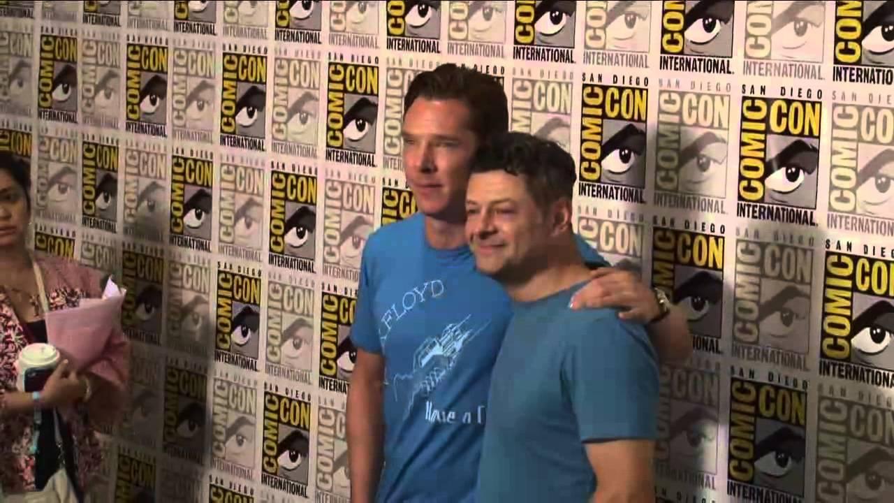 Download The Hobbit: Andy Serkis & Benedict Cumberbatch Comic Con Broll   ScreenSlam