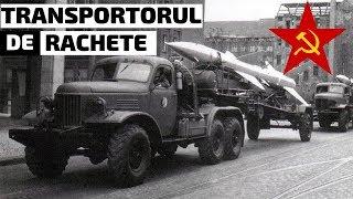 Transportorul De Rachete Sovietic ZiL-157 SA-2