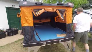Hard shell roof top tents by Tepui : Overland Expo 2018