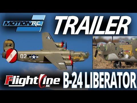 FlightLineRC 2000mm B-24 Liberator - Motion RC Pre-Order Announcement