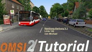 OMSI 2 Tutorial [60FPS] | Karte Hamburg-Harburg V1.1 Installieren