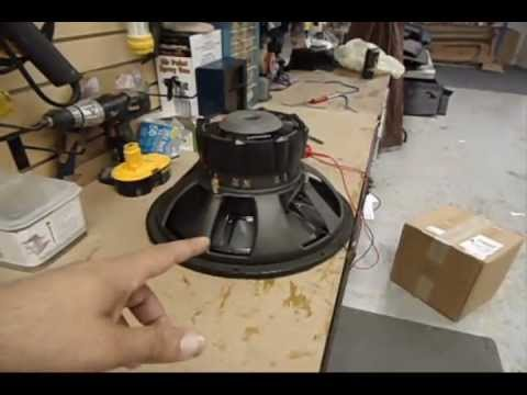How to wire a DVC subwoofer 4 ohm 2 ohm series parallel
