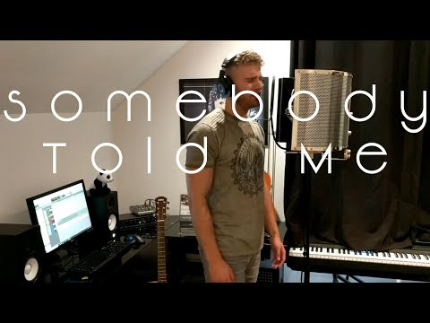 Somebody Told Me - Charlie Puth - Kieron Smith Rock Cover