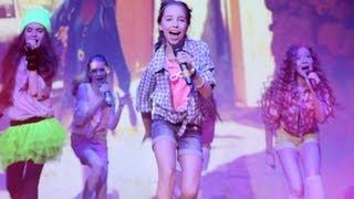 Open Kids - Show Girls Live (HD) at 2013 Open Art Studio Birthday Party