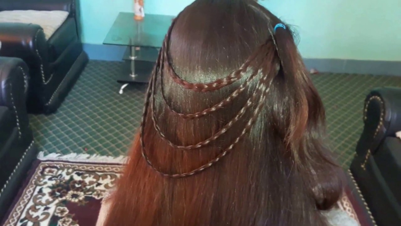 Party Hairstyle 2017 For Young Girls Youtube