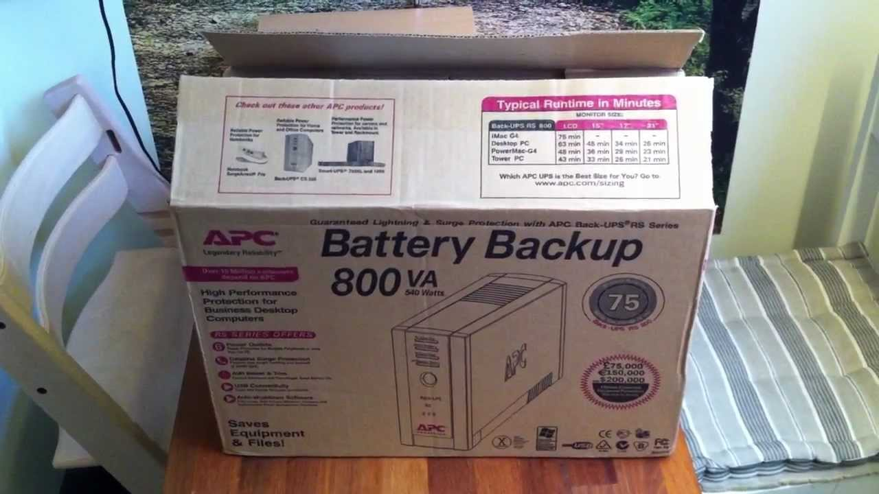 Apc back-ups 800va, 230v, avr, universal and iec sockets bx800li-ms.