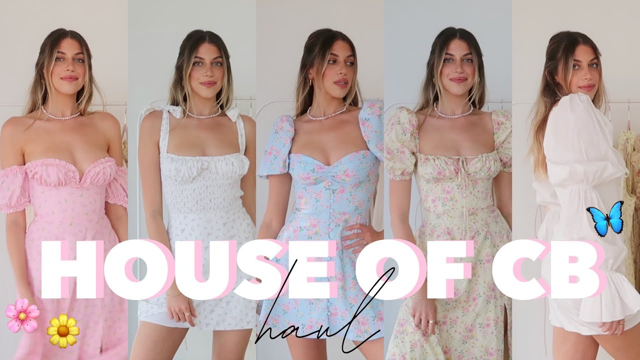 HOUSE OF CB TRY-ON HAUL | Summer Floral Dresses + More