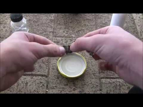 Extract Lithium From a AA Battery