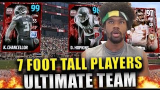 FASTEST WIN EVER!! MOST FEARED PLAYERS 7 FEET TALL!?!  - Madden 17 Ultimate Team