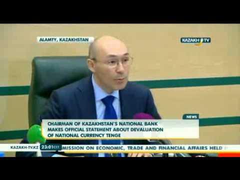 Currency devaluation in Kazakhstan