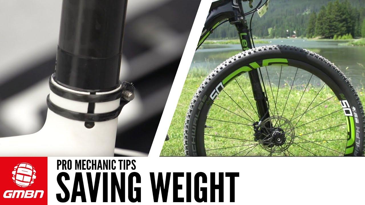 Best ways to reduce bike weight