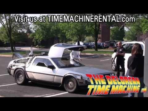 The DeLorean Time Machine Rental will take you back...