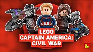 ◉ Обзор LEGO Капитан Америка: Гражданская война - Black Panther Pursuit review┃ЛЕГО 76047