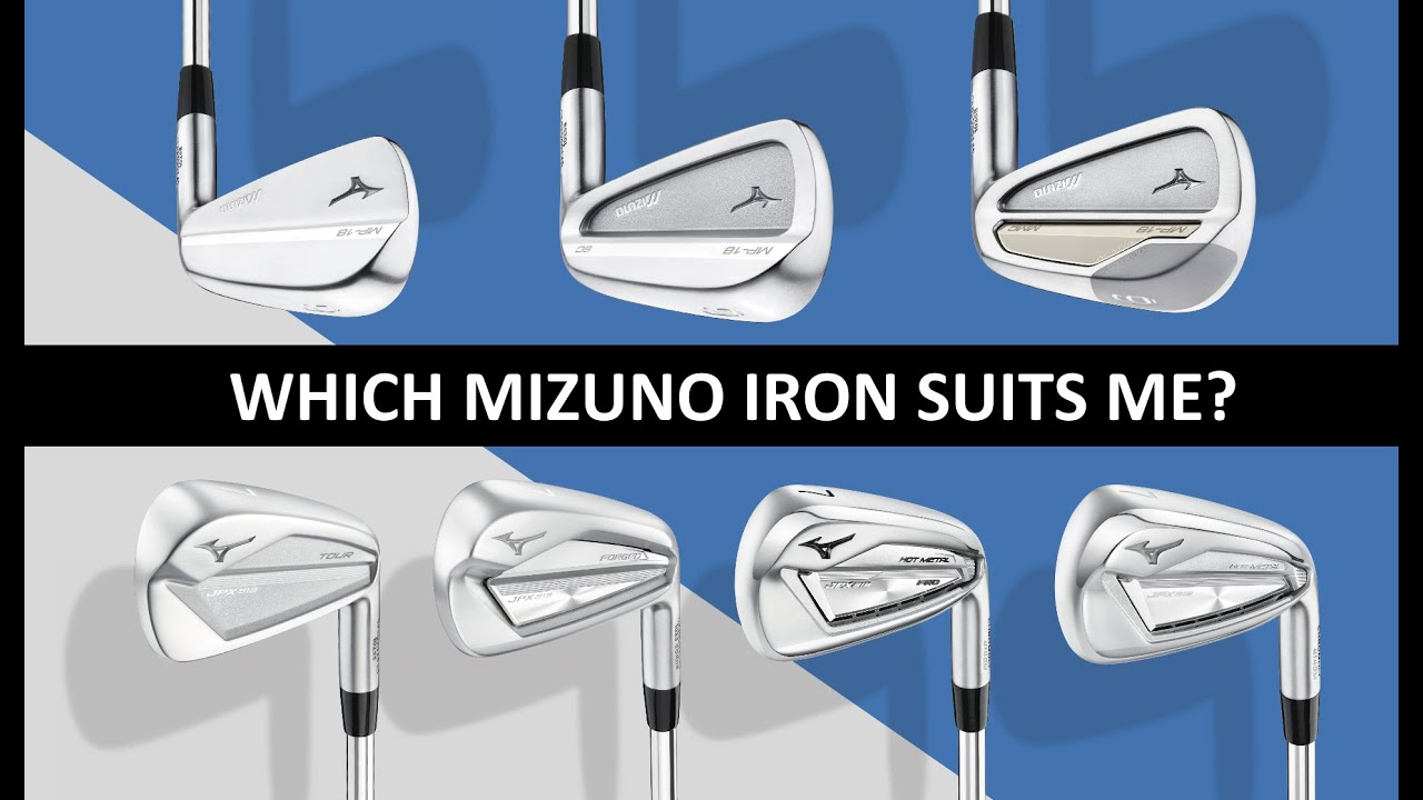 mizuno irons by year