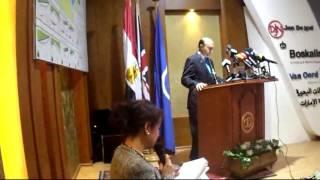 مميش للمراسلين الاجانب  المصريين  جمعوا مليارات قناة السويس الجديدة فى 7أيام
