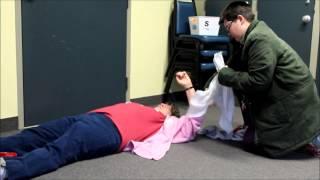 """Jen """"Treating Severe External Bleeding"""""""