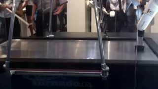 Denso Robot Playing Air Hockey