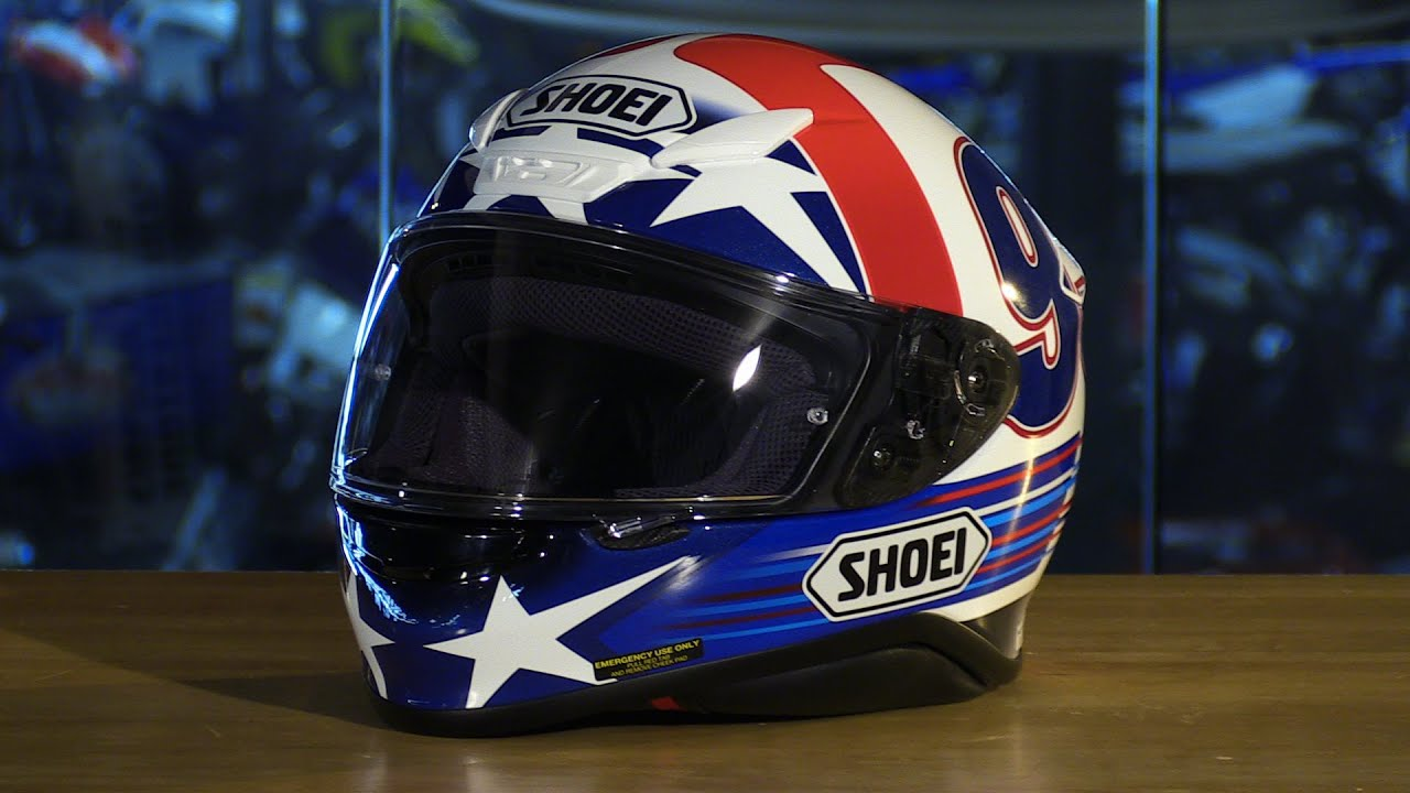 3aeb3d44 Shoei RF-1200 Indy Marquez Full Face Motorcycle Helmet Review - YouTube