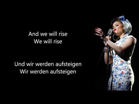 Andra Day Rise up - Deutsche Übersetzung