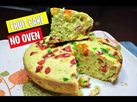 Fruit Cake Without Oven - Easy Cake Recipe - Cake Recipe Without Oven