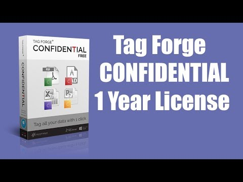Tag Forge Confidential Basic - 1 Year License (Limited offer)