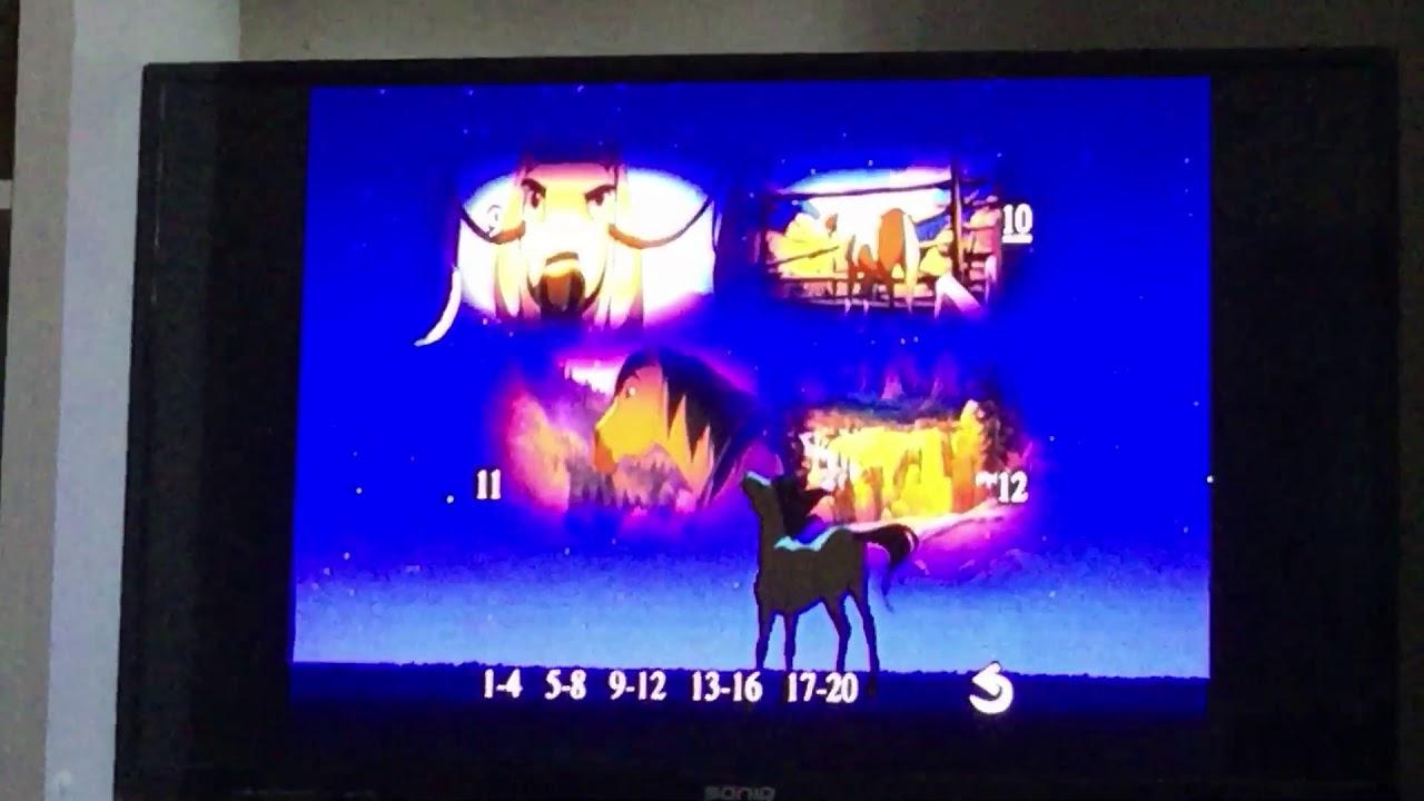 Download Spirit Stallion Of The Cimarron 2002 (2014 Reprint) DVD Menu Walkthrough