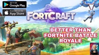 HOW TO DOWNLOAD FORT CRAFT GAME IN ANDROID AND PLAY IN INDIA    (MUST WATCH)