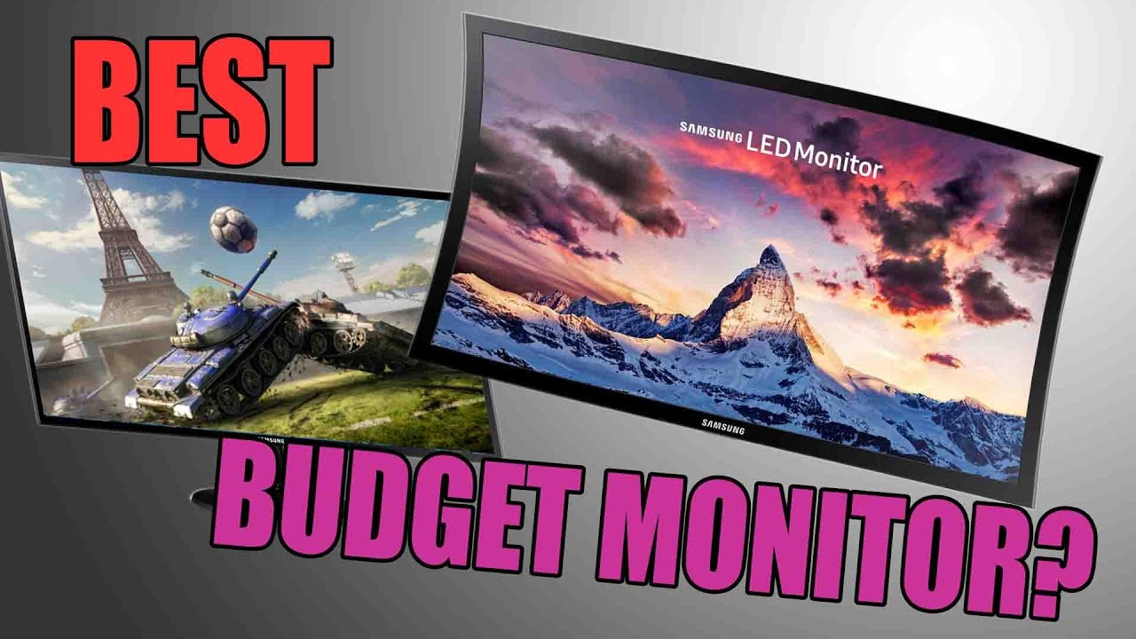 Samsung Sf350 Unboxing Review Budget Monitor Youtube