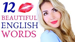 12 BEAUTIFUL English Words - Improve ENGLISH Vocabulary
