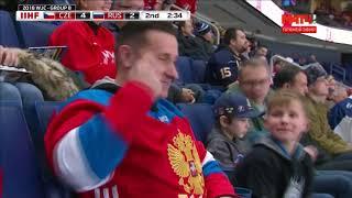 Голы Чехия Россия 5 4  Молодежный Чемпионат Мира по хоккею 2018