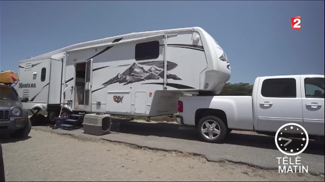 caravane de luxe americaine