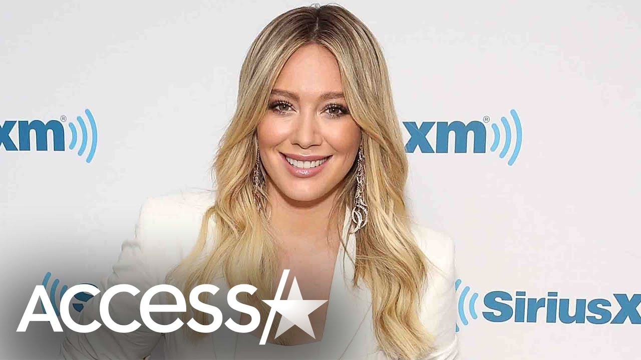 Hilary Duff Shows Off Growing Baby Bump