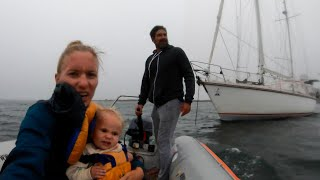 HURRICANE warning!  How We Prepare For BAD Weather.  - Sailing Vessel Delos Ep. 301