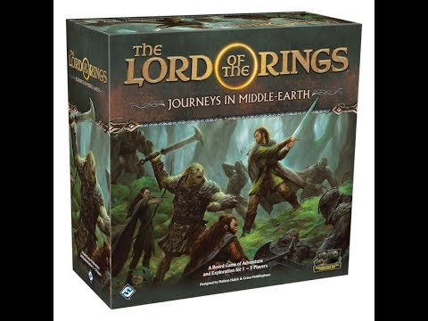 Rob Paints Journeys in Middle-Earth Part 1
