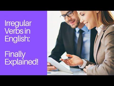 Irregular Verbs in English from ESLgold