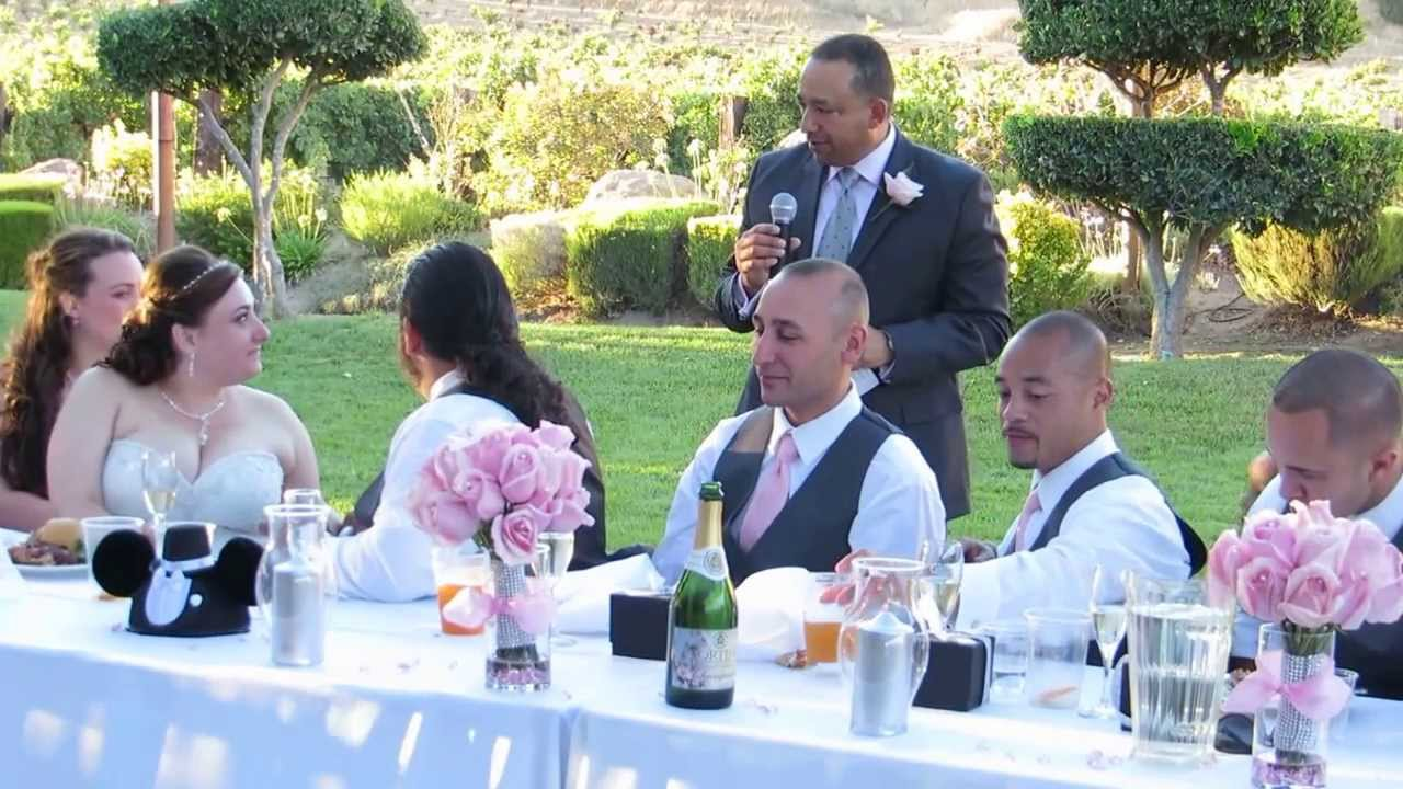 Father Of The Groom Wedding Speech