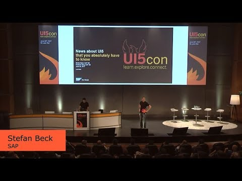 UI5con@SAP 2017 - News Around UI5 That You Absolutely Have To Know