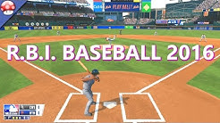 RBI Baseball 16 Gameplay (PC HD)