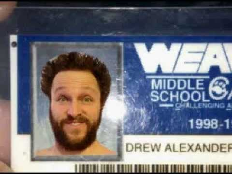 Doggy Face - Drew Sample's Middle School ID 1 - Get In Da Corner Comedy Podcast