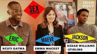 Sex Education with Emma Mackey, Ncuti Gatwa & Kedar Williams-Stirling: Cheesiest Chat up Lines