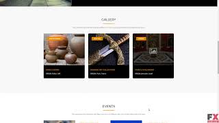 Museum - History & Art Gallery WordPress Theme TMT Jackie Arlen