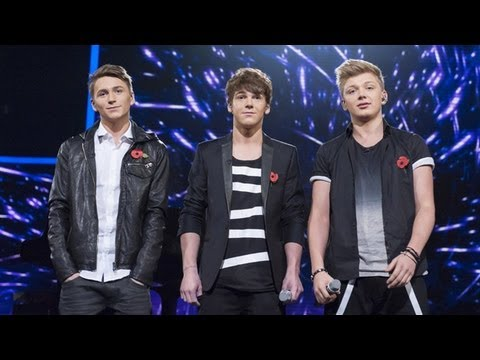 District3 sing Eric Clapton's Tears In Heaven - Live Week 6 - The X Factor UK 2012