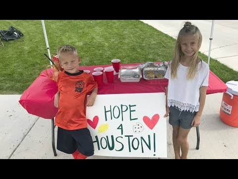 KIDS BAKE SALE FOR HURRICANE RELIEF!