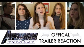 AVENGES: ENDGAME Official Trailer, REACTION!!