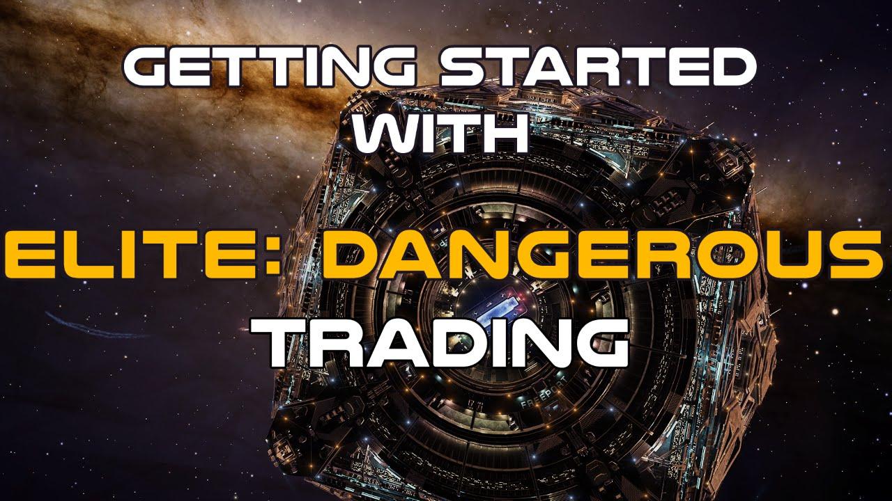 elite dangerous manufactured trader