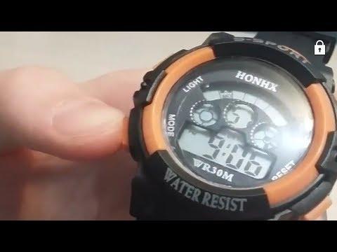 Как настроить время на часах S - SPORT - полный обзор