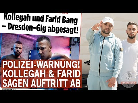 Wegen KMN - Kollegah & Farid Bang sagen Dresden Auftritt ab!