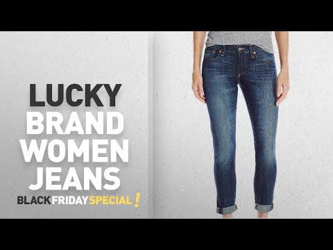 Top Black Friday Lucky Brand Women Jeans: Lucky Brand Women's Sienna Slim Boyfriend Jean, Beach