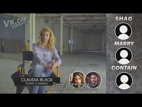 Claudia Black & CW Containment cast play Shag, Marry, Contain 2016