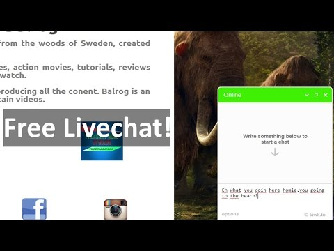 HOW TO MAKE A LIVECHAT ON YOUR WEBSITE FOR FREE